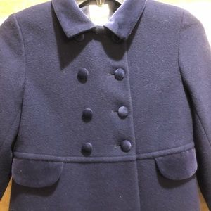 Laura Ashley Mother & Child Blue Coat